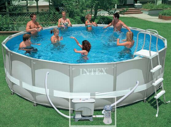piscine auto portée
